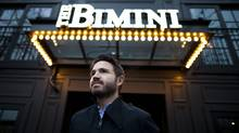 Jeff Donnelly, owner of the Bimini Public House, outside the establishment in Vancouver, British Columbia, Tuesday, December 6, 2011. (Rafal Gerszak for The Globe and Mail/Rafal Gerszak for The Globe and Mail)
