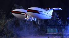 A model of the airship that will carry cameras and thermal imaging equipment, is to be made by Remote Aerial Tripod Specialists of Alberta.