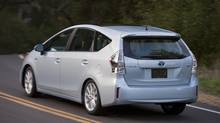 2012 Prius v: Toyota's big hybrid scores points for reliability and price (Toyota)