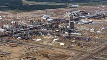 Part of Canadian Natural Resources Ltd.'s Horizon Oil Sands project near Fort McMurray, Alta. If the biorefinery pilot at CNRL's Primrose South is successful, it will be extended to the Horizon project. (Larry MacDougal/The Globe and Mail)