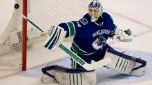 Vancouver Canucks' goalie Cory Schneider (DARRYL DYCK/The Canadian Press)
