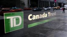A view of a branch of a TD Canada Trust bank in Toronto November 9, 2007. (© Mark Blinch / Reuters/REUTERS)
