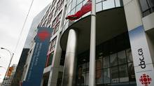 The CBC has had difficulty leasing empty space in its Toronto office because zoning rules restrict it to government employees. Having it serve as a data hub gets around those issues. (Charla Jones/The Globe and Mail)