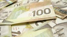 Canadian currency is seen in this file photo. (Feng Yu/Getty Images/iStockphoto)