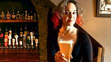 Mirella Amato, Canada's only female beer sommelier (Jennifer Roberts for The Globe and Mail/Jennifer Roberts for The Globe and Mail)
