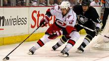 Eric Staal of the Carolina Hurricanes (Bruce Bennett/2009 Getty Images)