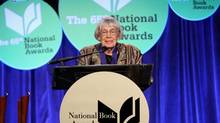 Fantasist Ursula Le Guin harsh words for the system that has made her famous during her address at the National Book Awards ceremony in New York earlier in November. Ursula K. Le Guin attends 2014 National Book Awards on November 19, 2014 in New York City. (Robin Marchant/Getty Images)