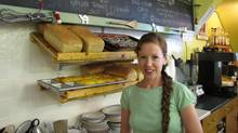 Jessica Atkinson, owner of Stone's Throw Cafe in Blairmore, Alberta. (Jessica Atkinson/The Globe and Mail)