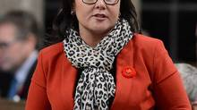 Environmental Minister Leona Aglukkaq, chair of the eight-nation Arctic Council, said Canada will not attend council meetings in Moscow in April, 2014, over Russia's 'illegal occupation of Ukraine.' (Sean Kilpatrick/The Canadian Press)