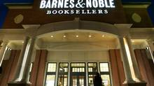 In this March 15, 2006 file photo, customers enter the Barnes & Noble Bookseller in Woodmere, Ohio. (AMY SANCETTA/AP)
