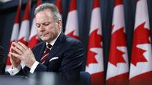 Bank of Canada Governor Stephen Poloz takes part in a news conference in Ottawa on Jan. 21, 2015. (Chris Wattie/Reuters)