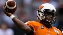 B.C. Lions quarterback Kevin Glenn (DARRYL DYCK/THE CANADIAN PRESS)