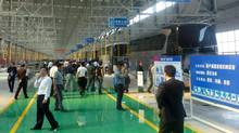 The Weichai bus manufacturing facility in Yangzhou. (Grande West Transportation)
