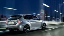 2013 Subaru WRX STI has a 2.5-litre engine with a turbocharger. (Subaru)