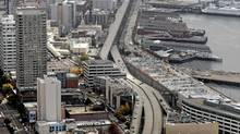 The Alaskan Way Viaduct elevated roadway in Seattle in 2006. (Elaine Thompson/AP)