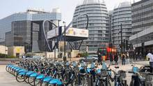 Tech City area around the Old Street roundabout in London. (Alamy)