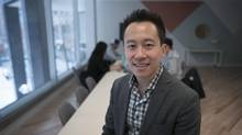At Derrick Fung's startup, the loyalty-and-rewards app Drop, is preparing to make claims under the SR&ED program. (J.P. MOCZULSKI/THE GLOBE AND MAIL)