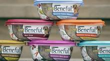Samples of Beneful Prepared Meals, a line of gourmet dog foods by Purina. (NAM Y. HUH/AP)