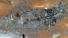 This Oct. 8, 2012 satellite image provided by DigitalGlobe shows the Amenas Gas Field in Algeria which is jointly operated by BP and Norway's Statoil and Algeria's Sonatrach. (The Associated Press)
