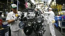 Honda's engine plant in Alliston, Ont. (Deborah Baic/The Globe and Mail)