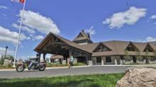 A view of the community center in Huntsville, Ontario. (IAN AUSTEN/NYT)