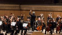 From the TSO's performance of A Toronto Symphony, by Tod Machover. (Dale Wilcox)