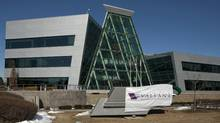 Valeant Pharmaceuticals International headquarters in Mississauga on Wednesday, March 30, 2011. (Norm Betts/Bloomberg)