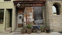 Exterior of Igor Kenk's bike shop (Fred Lum/The Globe and Mail/Fred Lum/The Globe and Mail)