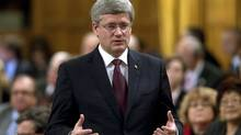 Prime Minister Stephen Harper's majority government seems more intent on redressing the past than on facing the challenges of the future. (Adrian Wyld/The Canadian Press/Adrian Wyld/The Canadian Press)