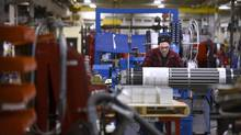 A key component of Ontario's economy, manufacturing has been highlighted as a potential driver for the province. (Fred Lum/The Globe and Mail)