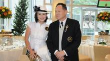 Gigi Chao pictured with her father from an image on Facebook.