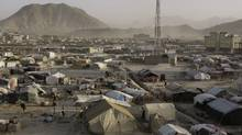 A general view of a refugee camp in Kabul in this photo from 2008. (Musadeq Sadeq/Associated Press)
