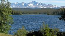 The Tsilhqot'in National Government is fighting the Prosperity mine project in large part because it would destroy Fish Lake, a trout-bearing lake Indian bands say is important for food and cultural reasons. (Xeni Gwet'in First Nation/Xeni Gwet'in First Nation)