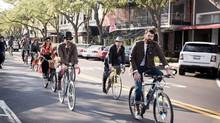 St. Petersburg, Fla., has joined the Tweed Ride phenomenon in which hipsters in vintage clothes parade through the city on bikes. (Patrick Smith)