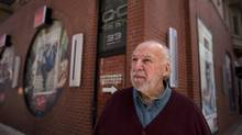 Bernie Finkelstein has written a new book about his life in the music business and the early days of the legendary Yorkville music scene. Finkelstein is photographed at the former site of Boris's, one of the many clubs that featured performers in the 1960's. (Moe Doiron/Moe Doiron/The Globe and Mail)