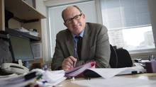 Principal researcher Dr. Steven Narod of Women's College Hospital says it appears pregnancy at the time of breast cancer does not appear to pose a risk to the mother. (Darren Calabrese For The Globe and Mail)