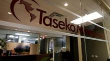 The offices of Taseko Mines Limited is pictured in Vancouver, B.C., in this file photo. (DARRYL DYCK/THE CANADIAN PRESS)
