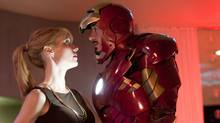 Gwyneth Paltrow and Robert Downey Jr. are shown in Iron Man 2. (Francois Duhamel/AP Photo/Paramount Pictures, Francois Duhamel)