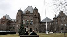 Queen's Park in Toronto. (Deborah Baic/The Globe and Mail)