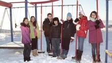 Rosalina Demcheson, Grace Salomonie ,Maxwell Cousins, Zachery Carpenter, Kiara Janes, Asini Wijesooriya and Joy Nowdluk wrote to The Globe about what life is like in Iqaluit. (SCOTT WRIGHT FOR THE GLOBE AND MAIL)