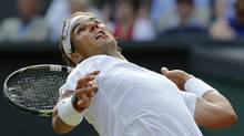 Spain's Rafael Nadal is just one of the many tennis stars who are confirmed for the Aug. 2-10 Toronto event. The 56-player draw will be completed at a later date. (Ben Curtis/The Associated Press)