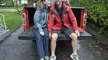 Robyn van Krek is not a fan of malls, so she and her husband, Andrew, bought their new truck online. (J.P. MOCZULSKI FOR THE GLOBE AND MAIL)