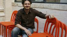 In A Hologram For A King Dave Eggers ably captures the inner life of a man living in the immediate present. , buffeted this way and that by current events.PREMIUM -- U.S. writer Dave Eggers poses during the 5th edition of the Rome literature festival,in Rome om 15 Jun 2006. Photo by Alessia Paradisi/ABACAUSA.COM (Pictured: Dave Eggers) (Alessia Paradisi/Abaca Press)