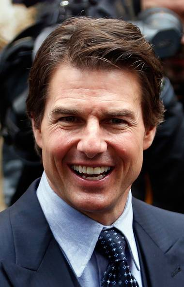 Well, hello, Tom Cruise. At 51, he's still the biggest movie star on the planet (who's bigger? Channing Tatum?), but he seemed rather wan and woebegone at the premiere of his new sci-fi thriller Edge of Tomorrow in Paris this week. After three failed marriages, could the tiny, perfect Scientologist be in need of fresh female companionship? (CHARLES PLATIAU/REUTERS)