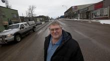 Pat Pimm, M.L.A. for Peace River North, Province of British Columbia on the streets of Fort St. John on January 16, 2013. (Deborah Baic/The Globe and Mail)