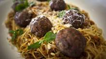 Spaghetti and meatballs are an easy recipe that will please everyone at the dinner table (JOHN LEHMANN/John Lehmann/The Globe and Mail)