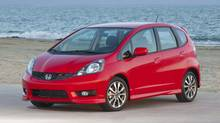 The newest fleet of Honda Fit subcompact cars imported by Canada was manufactured in China. (Honda Photo/Honda Photo)
