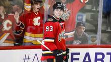 Calgary Flames forward Sam Bennett is the franchise's highest draft pick ever at fourth over all in 2014. (Jeff McIntosh/THE CANADIAN PRESS)