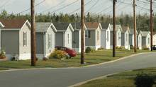 Rising demand from foreign retailers and financial services firms trying to enter a still-tight Canadian market is boosting REITs. KILLAM PROPERTIES: HALIFAX: A Killam Properties trailer park in Eastern Passage, NS, August 27, 2010. (Paul Darrow for the Globe and Mail) (PAUL DARROW For The Globe and Mail)