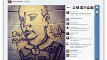 Jennifer Pawluck was arrested on Wednesday in Montreal after posting a photo of graffiti to Instagram. The graffiti was a depiction of Montreal police Cmdr. Ian Lafreniere with a bullet hole in his head. She was released on a promise to appear.